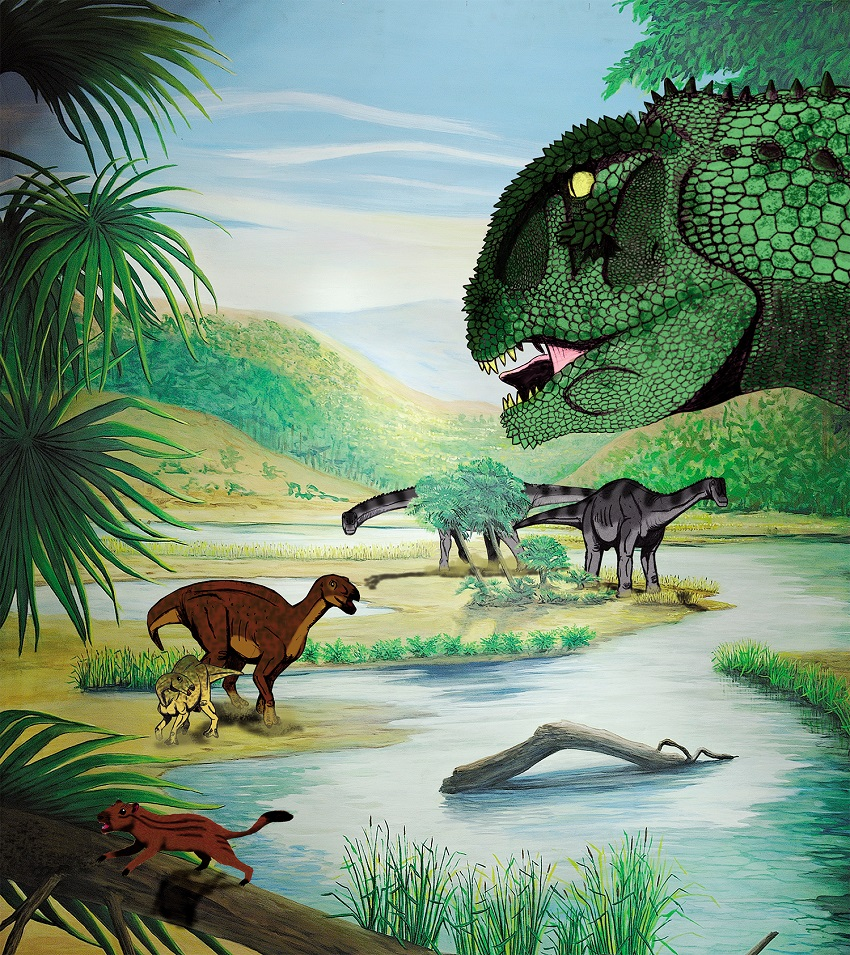 beaurecueil dinosaures provence